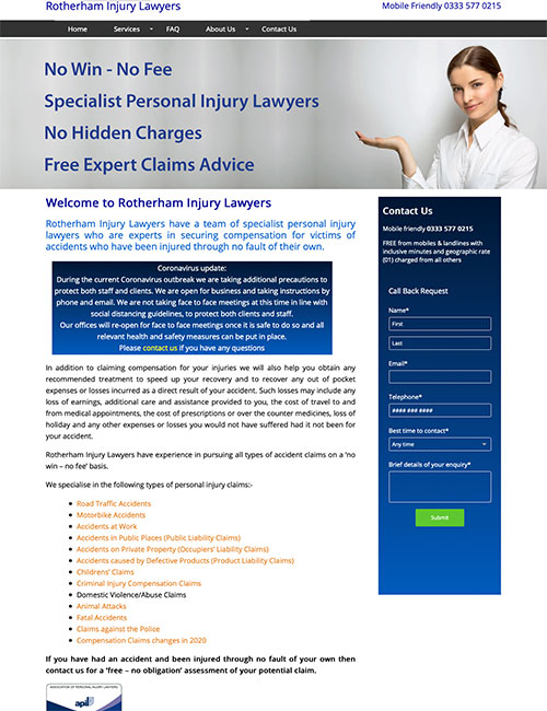 accident compensation rotherham